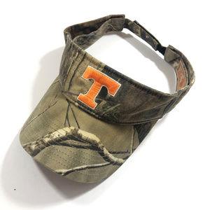University of Tennessee Orange Camouflage Visor
